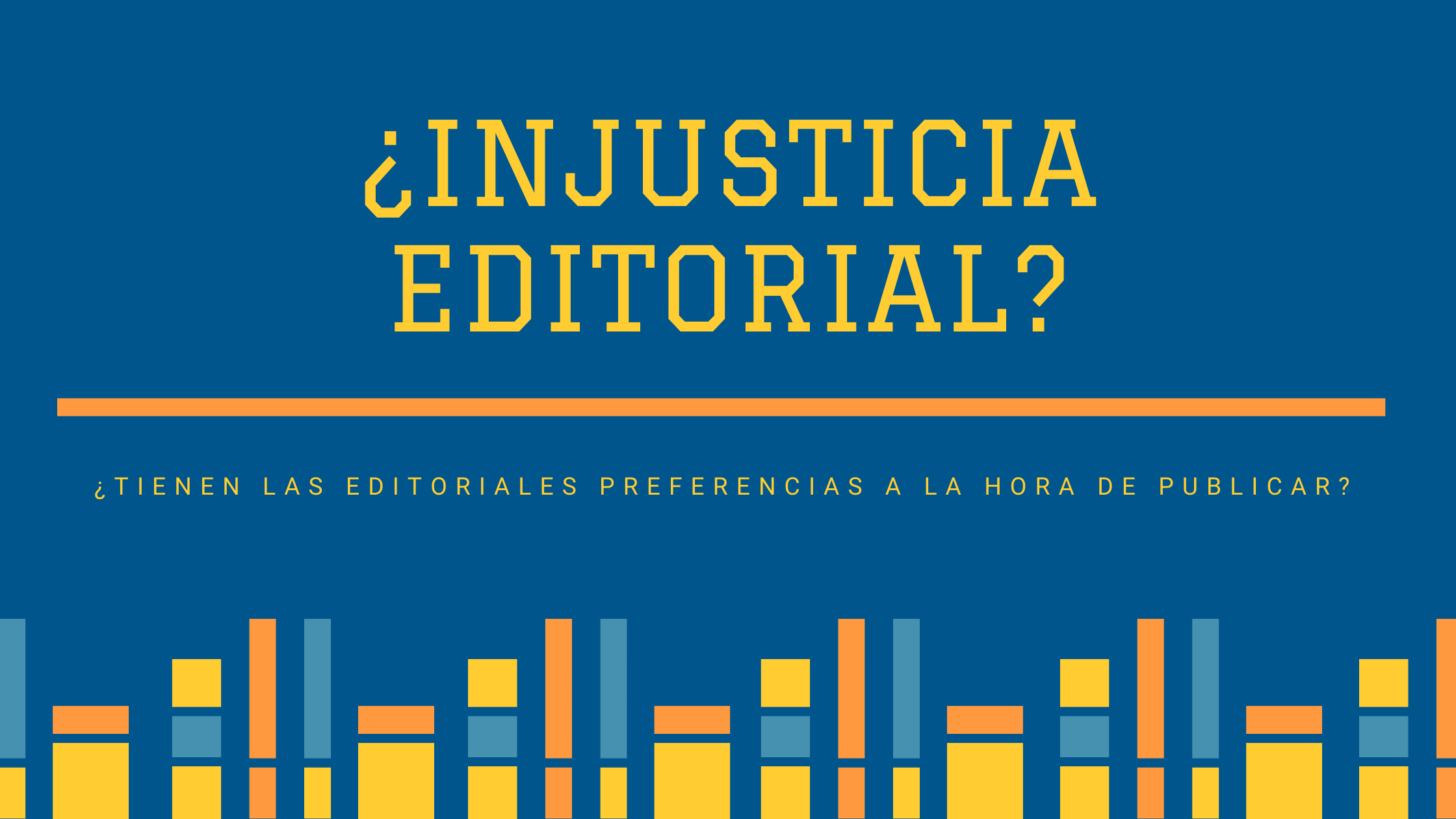 Injusticia editorial?